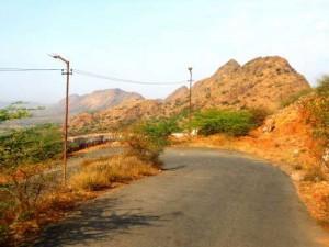 The way to Taragarh-Ajmer