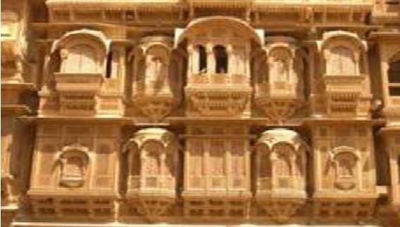 Image result for श्रीनाथ हवेली jaisalmer