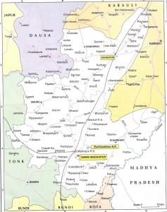 Sawal Madhopur Map